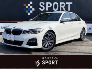 BMW 3シリーズ 320i Mスポーツ アクティブクルーズコントロール インテリジェントセーフティ 純正ナビ ハーフレザーシート シートヒーター・メモリー パワーバックドア LEDヘッドライト コンフォートアクセス ETC 純正AW