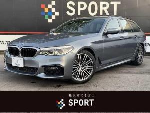BMW 5シリーズ 523iツーリング Mスポーツ アクティブクルーズコントロール インテリジェントセーフティ 純正ナビ フルセグ 全方位カメラ シートメモリー パワーバックドア LEDヘッド 純正AW Bluetooth コンフォートアクセス