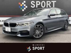 BMW 5シリーズ 523iツーリング Mスポーツ 本革シート アクティブクルーズコントロール インテリジェントセーフティ 純正HDDナビ フルセグ 全方位カメラ パワーバックドア コンフォートアクセス LEDヘッドライト ミラーインETC 純正AW