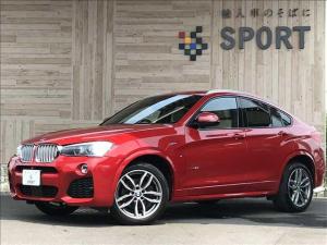 BMW X4 xDrive 28i Mスポーツ アクティブクルーズコントロール インテリジェントセーフティ 純正HDDナビ フルセグ バックカメラ 本革シート シートヒーター・メモリー パワーバックドア コンフォートアクセス LED 純正AW