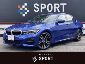 BMW 3シリーズ 320i Mスポーツ アクティブクルーズコントロール インテリジェントセーフティ 純正HDDナビ バックカメラ 黒革シート シートヒーター パワーバックドア LEDヘッド 純正AW Bluetooth ミラーインETC
