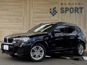 BMW X3 xDrive 20d Mスポーツ サンルーフ インテリジェントセーフティ 純正HDDナビ フルセグ バックカメラ クルーズコントロール ハーフレザーシート パワーバックドア コンフォートアクセス HIDヘッドライト ミラーインETC