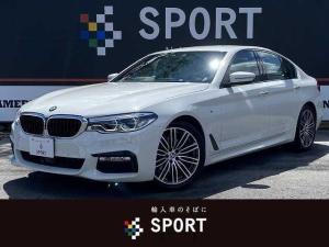 BMW 5シリーズ 523d Mスポーツ 1オーナー アクティブクルーズコントロール インテリジェントセーフティ 純正HDDナビ フルセグ 全方位カメラ 本革シート シートヒーター・メモリー LEDヘッド Bluetooth 純正AW