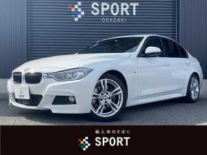 BMW 3シリーズ 320d Mスポーツ 純正HDDTV Bカメラ インテリジェントセーフティ アクティブクルーズコントロール ETC アルカンターラシート シートセットメモリー Mスポーツ専用AW スマートキー キセノンヘッドライト