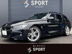 BMW 3シリーズ 320dツーリング Mスポーツ 純正HDD カメラ Pバックドア シートセットM ETC スマートキー アイドリングストップ シートセットメモリー アルカンターラシート パドルシフト パワーバックドア キセノン