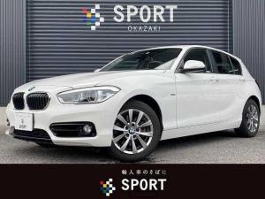 BMW 1シリーズ 118d スポーツ 純正HDD カメラ インテリセーフティ ETC アイドリングストップ AW キセノンヘッドライト レーンディパーチャーウォーニング クルーズコントロール