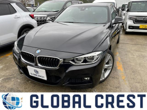 BMW 3シリーズ 318i Mスポーツ 衝突被害軽減ブレーキ 純正ナビ ETC バックカメラ DVD再生 CD再生 LEDライト オートライト レーンアシスト スマートキー アイドリングストップ 純正アルミホイール パワーシート