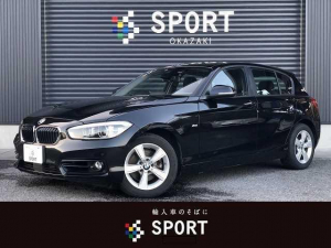 BMW 1シリーズ 118d スポーツ 118d Sport RHD HDD カメラ インテリセーフ アククル ETC