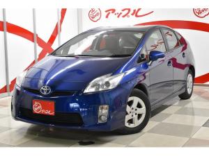 トヨタ プリウス S 純正15インチアルミホイール SDナビ バックカメラ スマートキー プッシュスタート ABS 横滑り防止装置