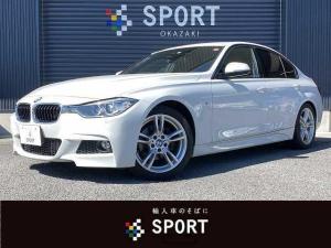 BMW 3シリーズ 320d Mスポーツ 320d M Sport 純正ナビBカメ クルコン インテリS ETC HID