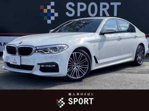 BMW 5シリーズ 523d Mスポーツ アクティブクルーズコントロール インテリジェントセーフティ 純正ナビ フルセグ 全方位カメラ Bluetooth シートメモリー LEDヘッドライト ミラーインETC 純正アルミホイール