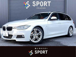 BMW 3シリーズ 320dツーリング Mスポーツ 320d M Sport サンルーフ 赤革 純正ナビ Bカメ インテリS