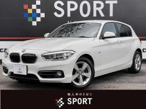 BMW 1シリーズ 118d スポーツ インテリジェントセーフティ 純正HDDナビ バックカメラ クルーズコントロール LEDヘッドライト 純正アルミホイール ディーゼル ETC Bluetooth