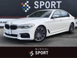 BMW 5シリーズ 523d Mスポーツ アクティブクルーズコントロール インテリジェントセーフティ 純正HDDナビ フルセグ 全周囲カメラ パワーバックドア シートメモリー Bluetooth ミラーインETC 純正AW LEDヘッドライト
