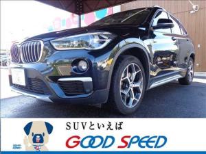 BMW X1 xDrive 18d Xライン 純正ナビゲーション ETC バックカメラ パワーバックドア スマートキー LEDヘッドライト ダウンヒルアシスト ハーフレザー ヘッドアップディスプレイ クルーズコントロール クリアランスソナー