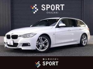BMW 3シリーズ 320dツーリング Mスポーツ 320d M Sport 純正ナビ Bカメ ETC メモリ付PS HID 純正AW
