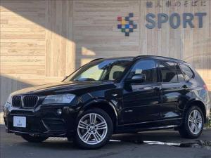 BMW X3 xDrive 20d Mスポーツ 純正HDDナビ フルセグ バックカメラ ハーフレザーシート パワーバックドア HIDヘッドライト コンフォートアクセス 純正アルミホイール ミラーインETC Bluetooth クルーズコントロール
