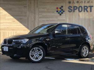 BMW X3 xDrive 20d Mスポーツ 1オーナー インテリセーフ 黒革 シートヒーター・メモリー 純正HDDナビ フルセグ バックカメラ クルーズコントロール パワーバックドア コンフォートアクセス HID ETC 純正アルミ