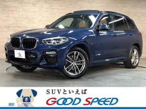 BMW X3 xDrive 20d Mスポーツ サンルーフ 純正ナビTV 全周囲カメラ 茶革 シートヒーター アクティブクルーズ パワーバックドア インテリジェントセーフティ LED 4WD イノベーションPKG ハイラインPKG