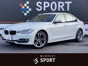 BMW 3シリーズ 320dブルーパフォーマンス スポーツ 本革 純正HDDナビ Bカメラ コンフォートアクセス パワーシートメモリー シートヒーター オートライト DVD再生 ブルートゥース 電動格納ミラー