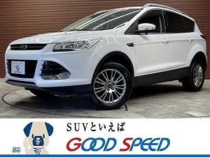 フォード クーガ Trend SDナビ フルセグTV ワンオーナー バック&サイドカメラ ETC車載器 クルーズコントロール ハーフレザーシート Bluetoothオーディオ 電動シート 純正17インチAW リアパークソナー