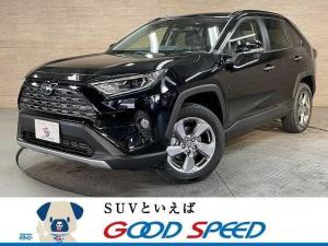 トヨタ RAV4 HYBRID G 新車未登録 サンルーフ クリアランスソナー AC100V レーダークルーズ シートヒーター パワーバックドア パワーシート スマートキー LEDヘッド 4WD