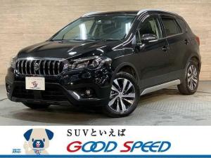 スズキ SX4 Sクロス ベースグレード SDナビ フルセグTV クルーズコントロール シートヒーター スマートキー Bluetooth ルーフレール 4WD