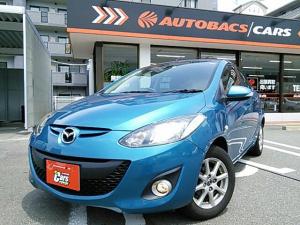 マツダ デミオ 13-SKYACTIV 地デジナビ 当社買取車両 保証付