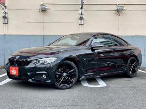BMW 4シリーズ 420iクーペ Mスポーツ キーレス ナビ 19アルミホイール エアバッグ 電動シート オートマ ディーラー車 フル装備 HIDヘッドライト ETC バックカメラ スマートキー オートクルーズコントロール