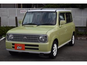 スズキ アルトラパン L ユーザー買取車 グリーンホワイトツートンカラー 社外フルセグナビTV ETC キーレス