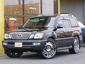 米国レクサス LX470 中東モデル 新車並行 LX470 純正ブラック