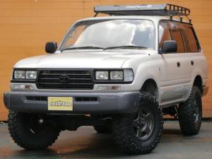 トヨタ ランドクルーザー80 VXリミテッド 角目四灯 BAJAラック リフトアップ