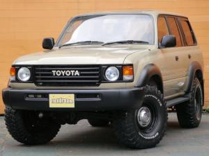 トヨタ ランドクルーザー80 VXリミテッド 丸目フェイス ペンドルトン