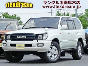 トヨタ ランドクルーザー100 VX-LTD ナビ バックカメラ サンルーフ付