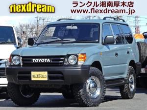 トヨタ ランドクルーザープラド TZ 丸目カスタム 新品アルミ新品タイヤ 新品シートカバー