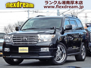トヨタ ランドクルーザー AX Gセレクション 本革シート ZXサイドモール ナビ