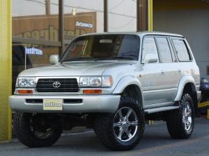 トヨタ ランドクルーザー80 VX-LTD リフトアップ NEWペイント