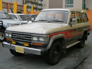 トヨタ ランドクルーザー60 VX オリジナルスタイル ブラウン内装