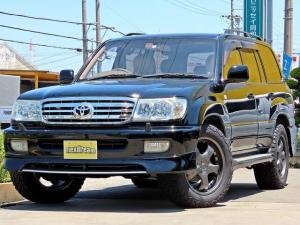 トヨタ ランドクルーザー100 VX-LTD ブラックコンプリート フルエアロ シートカバー