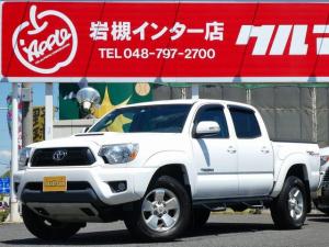 米国トヨタ タコマ ダブルキャブ TRDスポーツ 新車並行