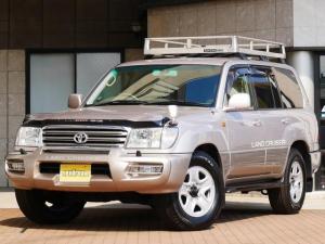 トヨタ ランドクルーザー100 VX-LTD アウトドア仕様 ラック ラダー 背面タイヤ