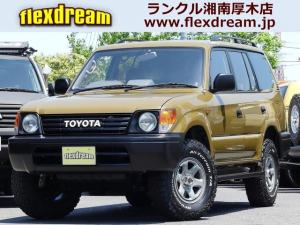 トヨタ ランドクルーザープラド TX-LTD FD-classic丸目カスタム 新品アルミ