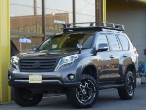 トヨタ ランドクルーザープラド TX ARBルーフラック リフトアップ
