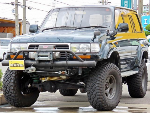 トヨタ ランドクルーザー80 VX-LTD 5インチリフトアップ クロカンバンパー