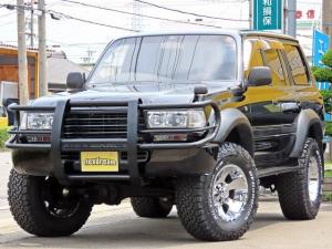 トヨタ ランドクルーザー80 VX-LTD ブラックコンプリート 3インチリフトアップ