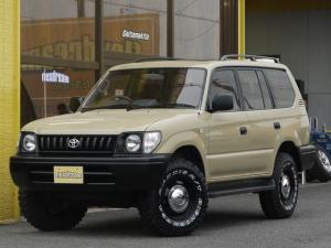 トヨタ ランドクルーザープラド TX-LTD 丸目フェイス換装 NEWペイント・ベージュ