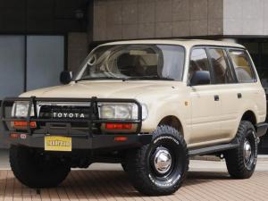 トヨタ ランドクルーザー80 VX-LTD ディーゼルT ARBバンパー DEANホイール