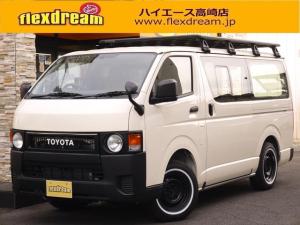 トヨタ ハイエースバン DX コーデユロイシートカバー