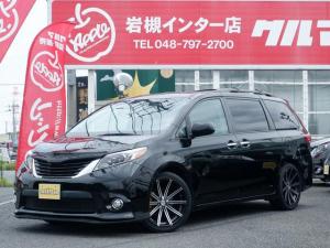 米国トヨタ シエナ SE 新車並行 地デジナビ バグガード