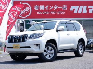 トヨタ ランドクルーザープラド TX Lパッケージ 買取直販車 1オーナー ベージュレザー ALPINEナビ サンルーフ